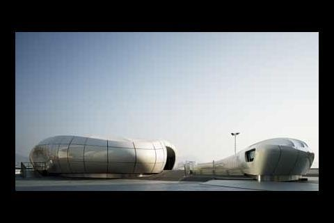 Zaha Hadid's Mobile Art Container for Chanel